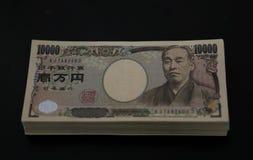日元票据 免版税库存照片