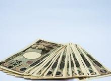 日元票据 免版税图库摄影