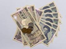日元金钱8 库存图片