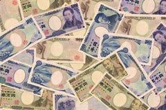 日元钞票 免版税图库摄影