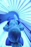日光浴室处理 免版税库存照片