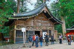 日光Toshogu寺庙在日光,日本 免版税库存照片