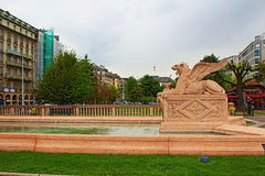 日内瓦喷泉瑞士 库存照片