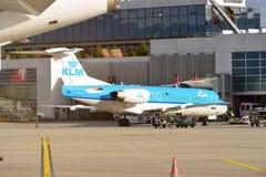 日内瓦机场 库存照片