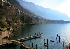 日内瓦湖瑞士 库存照片