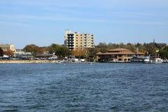 日内瓦湖美国威斯康辛 库存图片