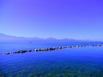 日内瓦湖 图库摄影