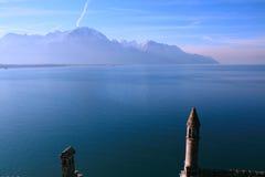 日内瓦湖 免版税库存图片