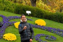 日内瓦瑞士:时钟花新的设计 库存图片