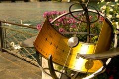 日内瓦的湖的堤防 库存图片