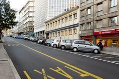日内瓦视图 免版税图库摄影