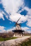 日内瓦,伊利诺伊,美国-风车 库存图片