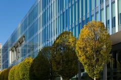 日内瓦,总部修造世界知识产权组织 免版税库存图片