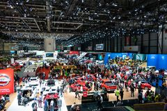 Geneva, Switzerland, march 9, 2019 - International Motor Show