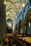 日内瓦,瑞士- 2017年10月18日:圣皮埃尔C内部  库存照片