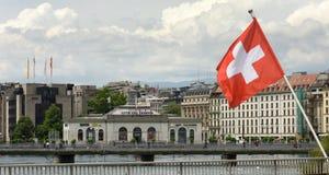 日内瓦,瑞士- 2017年6月05日:La Cite du修造a的Temps 免版税库存图片