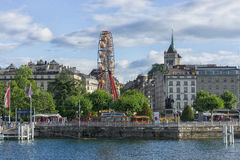 日内瓦,瑞士 库存照片