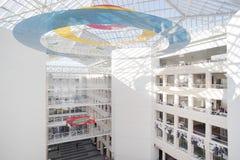 日内瓦, 2017年10月27日,瑞士-日内瓦大学图书馆  免版税库存图片
