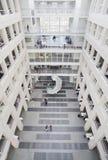 日内瓦, 2017年10月27日,瑞士-日内瓦大学图书馆  免版税图库摄影