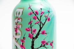 日内瓦/瑞士16 07 18 :瓶亚利桑那绿茶冰茶用蜂蜜 免版税库存图片