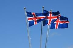 日冰岛独立 免版税库存照片