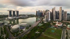 日出在新加坡 影视素材