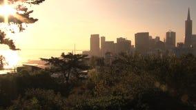 日出在旧金山 影视素材