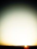 日出在蒙古 免版税库存图片