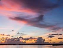 日出在迈阿密 库存照片