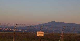 日出在雅典 库存图片