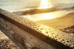 日出在Vero Beach 库存照片