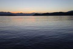日出墙壁海湾费特希耶1 库存照片