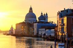 日出威尼斯 免版税库存图片