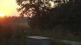 日出火车 影视素材