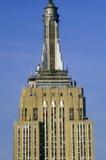 日出的帝国大厦,纽约, NY 图库摄影