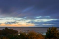 日出萨姆纳海滩 库存照片