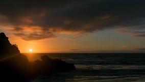 日出萨姆纳海滩 库存图片