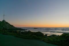 日出萨姆纳海滩 图库摄影