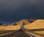 日出西藏 图库摄影