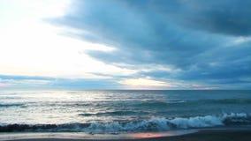 日出,黑海蓝色波浪,土耳其6月2016年, 影视素材