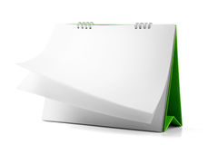 日历可能设计员桌面图象强加必要的页 免版税库存图片