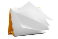 日历可能设计员桌面图象强加必要的页 免版税库存照片