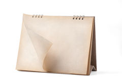 日历可能设计员桌面图象强加必要的页 库存照片