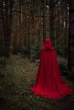 日历概念日期冷面万圣节愉快的藏品微型收割机说大镰刀身分 雨衣的一个巫婆 图库摄影