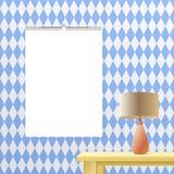 日历黏合剂在透明背景的大模型垂直 您的广告的螺旋装订的传染媒介日历模板 库存图片