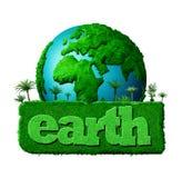 日地球 库存例证