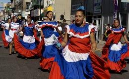 日多米尼加共和国游行 库存图片