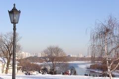 日太阳冬天 库存照片