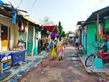 日常生活在印度 图库摄影