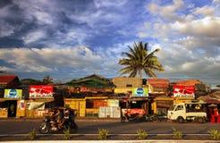 日常生活场面在伊洛伊洛省 免版税库存照片
